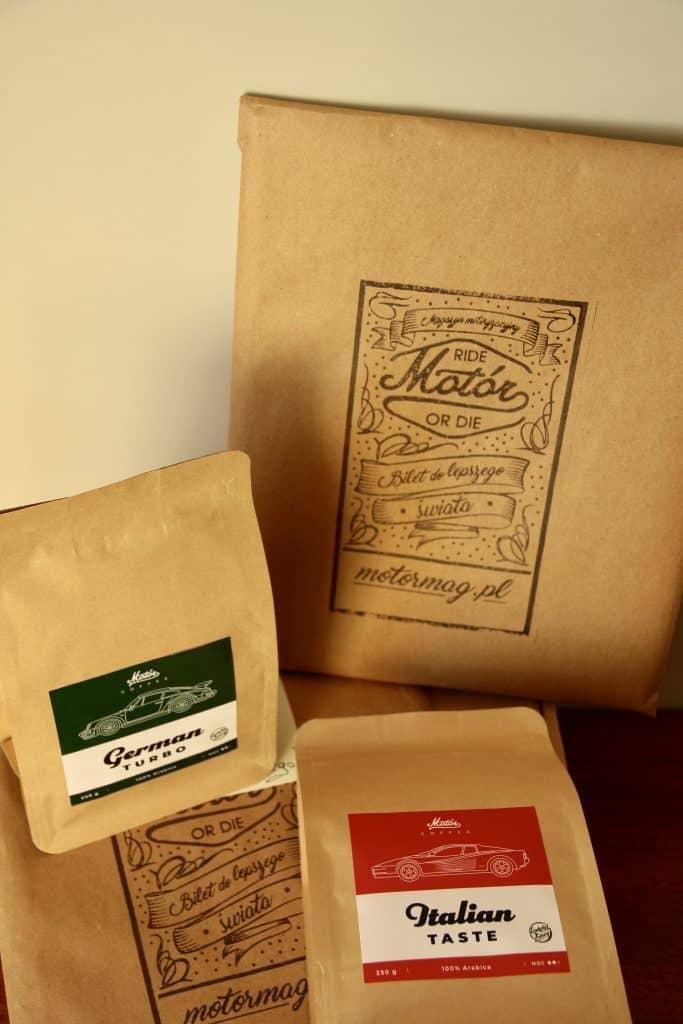 Kawy Motór Coffee - Italian Taste I German Turbo